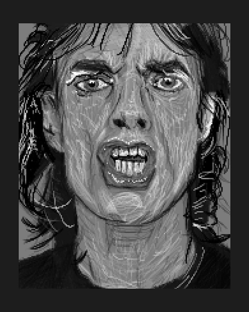 Mick Jagger by Zilmari